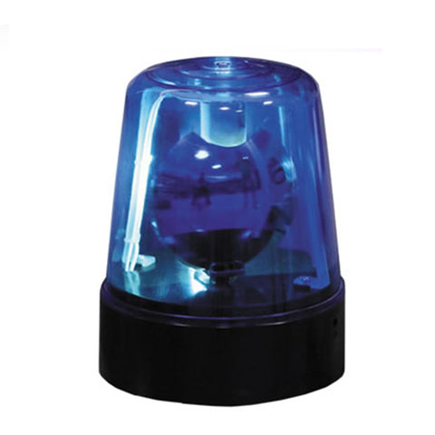 10 Watt Rotating Beacon Light Dj Party - In Blue Red Or Yellow Lighting