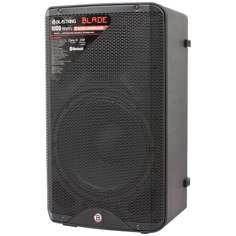 "BLASTKING BLADE12A 1000 Watts 12"" Bluetooth Active Loudspeaker with DSP Processor"