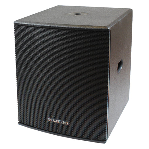 "BLASTKING BPS15II 1000 Watts 15"" Powered Subwoofer"