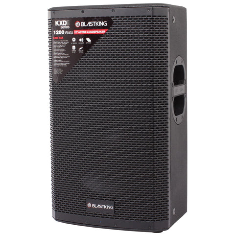 "BLASTKING KXDII12A 1200 Watts 15"" Active Loudspeaker with DSP Mode"