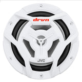 Jvc Cs-Dr6201Mw 2-Way 6.5 300 Watt Coaxial Drvn Marine Speakers White