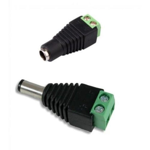 5.5 DC Power 12V 24V Jack Adapter Connector - expert island
