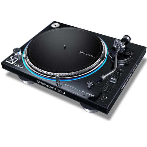 Denon Vl12 Prime Professional Direct-Drive Dj Turntable With True Quartz Lock