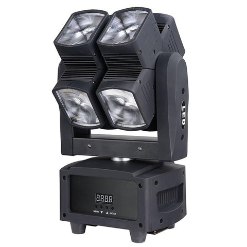 120W Rgbw Double Hot Wheel Led Moving Head Dmx512 Dj Stage Light Lighting