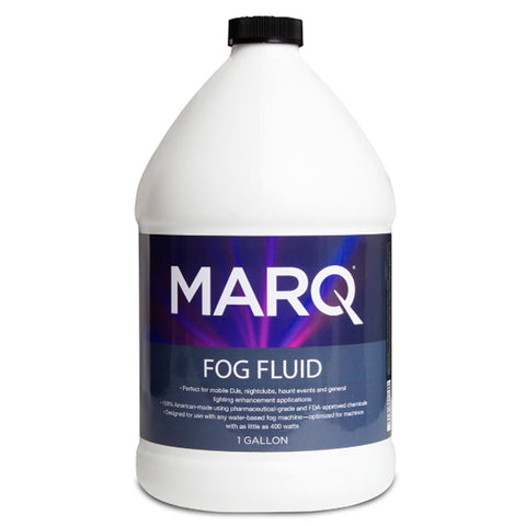 Marq Water-Based Fog Fluid For Machines 1 Gallon Machine