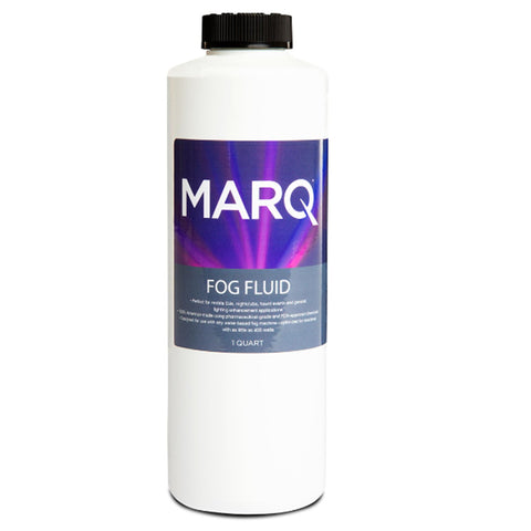 Marq Water-Based Fog Fluid For Machines 1 Quart Machine