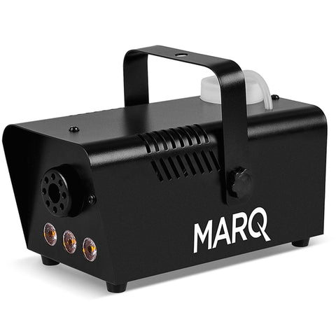 Marq 400 Watt Quick-Ready Water-Based Fog Machine Black/amber Led