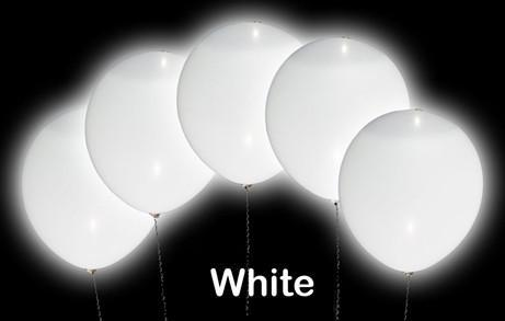 LED Light-Up Balloons with Solid Colour Non-Flashing LED Light - expert island