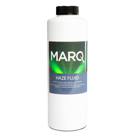 Marq Water-Based Haze Fluid For Machines 1 Quart Machine