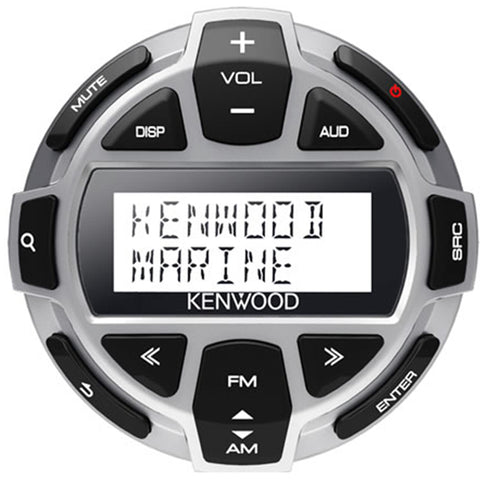 Kenwood Kca-Rc55Mr Marine Remote Control Head W/led Display