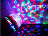 LED Full Colour Rotating Party Light Bulb - expert island