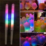 Light Up Led Cotton Candy Floss Stick Holder Accessories