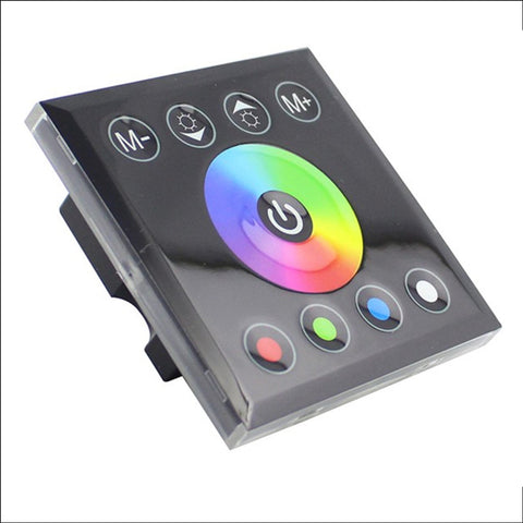 In-Wall Touch Panel Led Light Controller Dimmer 12V-24V - For Rgb Strips / Bulbs Accessories