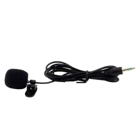Generic Replacement Wired Lavalier / Lapel Microphone With Clip - 3.5Mm