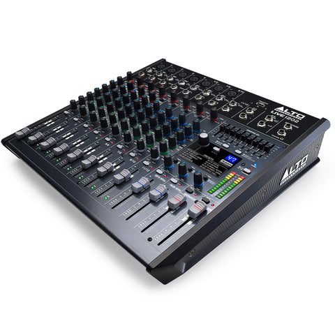 Alto Live 1202 Professional 12-Channel /2-Bus Mixer Audio