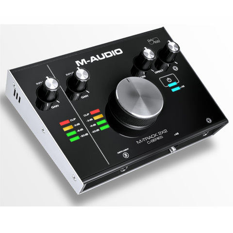 M-Audio M-Track 2X2 Usb Audio Interface 2-In /2-Out 24/192