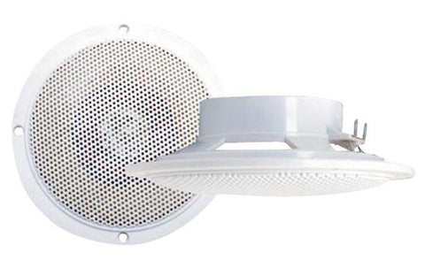 Pyramid (Mdc5) 100 Watts 4 Waterproof Flush Mount 2 Way Marine Speaker System Speakers