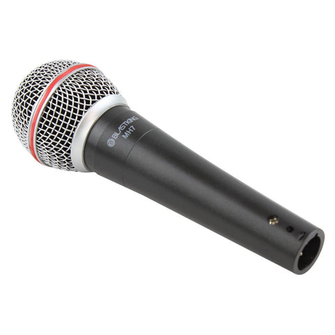 BLASTKING MH7 Dynamic Vocal Handheld Microphone - XLR Cable and Mic Clip Included