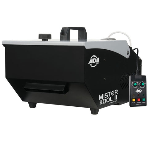 American Dj Mister Kool Ii Low Lying Effect Ground Fog Machine - 700 Watt With Remote Controller Pro