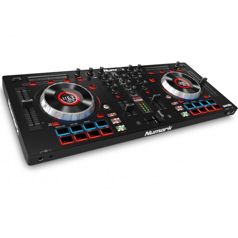 Numark Mixtrack Platinum Dj Controller With Jog Wheel Display Audio