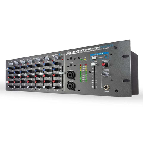 Alesis Multimix 10 Wireless 10-Channel Rackmount Mixer With Bluetooth Audio