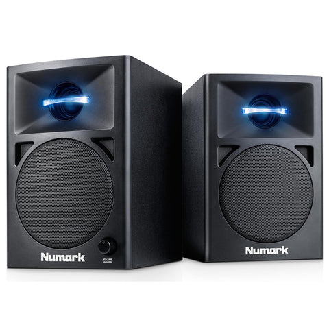 Numark N-Wave 360 Powered Desktop Dj Monitors (Pair) Speaker