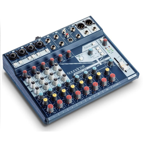 Soundcraft Notepad-12FX Analog Mixer with  USB I/O and Lexicon Effects