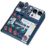 Soundcraft Notepad-5 Compact Analog Mixer With Usb I/o Audio