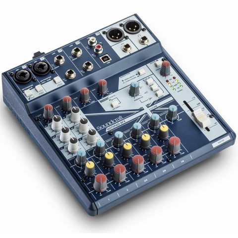 Soundcraft Notepad-8Fx Analog Mixer With Usb I/o And Lexicon Effects Audio
