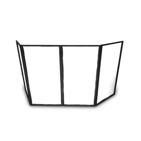 Pyle Pdjfac12 Dj Booth Cover Screen - Façade Frontboard Display Scrim Panel Pro Accessories