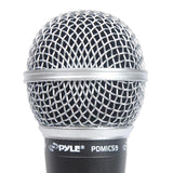 Pyle Pdmic59 Professional Dynamic Microphone Unidirectional Handheld With Xlr Cable