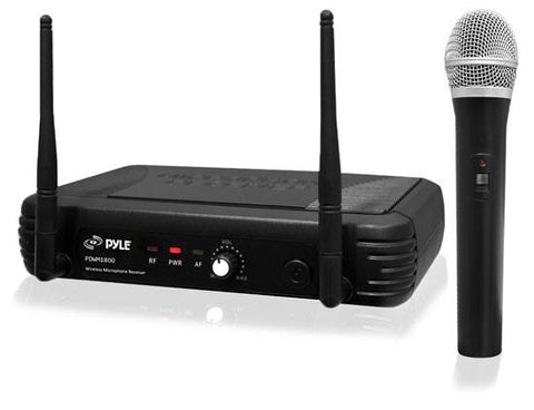 Pylepro Pdwm1800 Premier Series Professional Uhf Wireless Handheld Microphone System