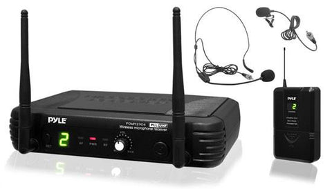 Pyle Pdwm1904 Premier Series Uhf Wireless Body-Pack Transmitter Microphone System