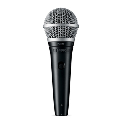 Shure Pga48 Cardioid Dynamic Vocal Microphone - With 1/4 Cable