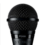Shure Pga58 Cardioid Dynamic Vocal Microphone - With Xlr Cable