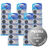 PKCELL CR2025  Lithium Coin Cell Battery