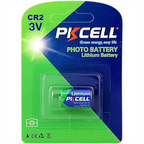 PKCELL Lithium Photo Battery - CR2 - expert island