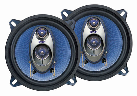 PYLE PL53BL 5.25'' 200 Watt Three-Way Speakers (Pair)
