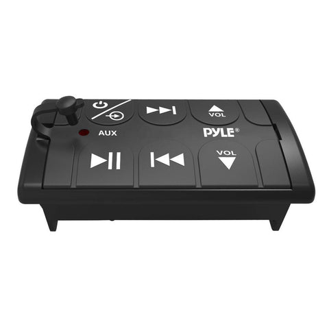 Pyle PLBT27 Universal Bluetooth Remote Control Receiver Adapter for Mobile Vehicles Boats and Motorcycle - expert island