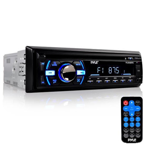 Pyle Plcd43Btm Bluetooth Marine Stereo Cd Player Hands-Free Call Answer Usb/mp3/sd/aux In-Dash