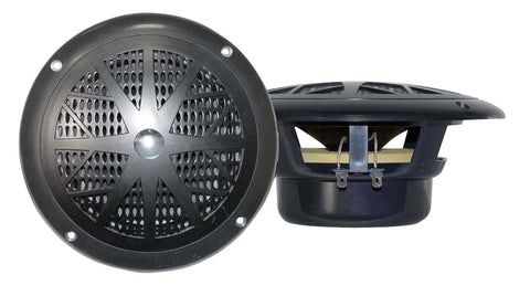 Pyle (PLMR41) 4'' Dual Cone Waterproof Stereo Speaker System (Pair) - 2 Colours Available - expert island
