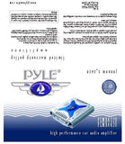 Pyle Plmra420 Elite Series Waterproof Amplifier Bridgeable 1000 Watt 4-Channel Amp Marine