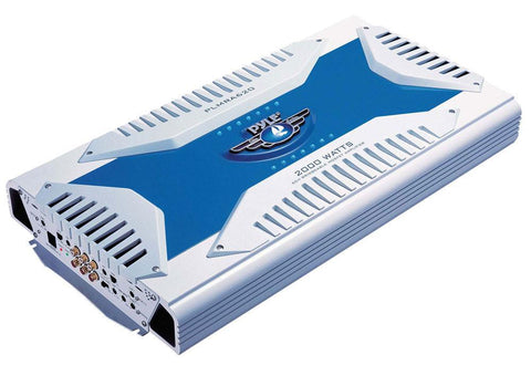 Pyle Plmra620 Elite Series Waterproof Amplifier Bridgeable 2000 Watt 6-Channel Amp Marine