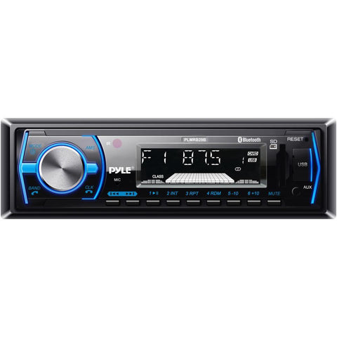Pyle (Plmrb29) Bluetooth In-Dash Stereo Radio Head Unit Mp3 Playback Usb/sd Card Readers Aux (3.5Mm)