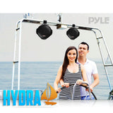 Pyle Plmrw65/plmrb65 Dual Marine Wakeboard Water Resistant Speakers 6.5-Inch 200 Watt (Pair) - Black
