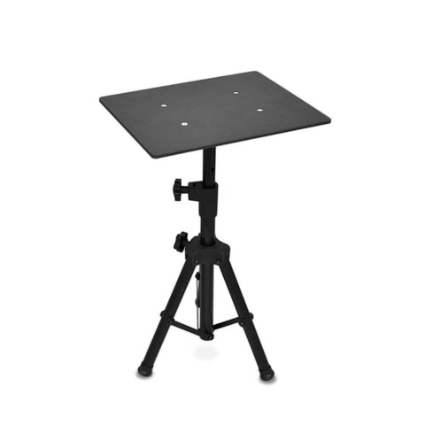 Pyle Plpts2 Universal Laptop Notebook Computer Dj Equipment Studio Stand Mount Holder Height