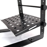 PYLE PLPTS30 Laptop Computer Stand For DJ With Flat Bottom Legs