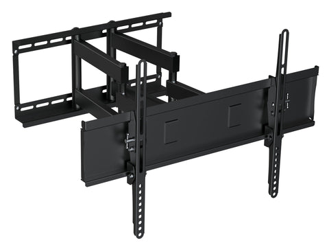 "Prime Mounts PMD110CB Full motion mount is designed for large flat panel displays (37"" - 70"") up to 175 lbs. - expert island"