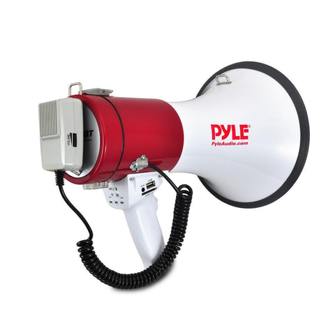 Pyle PMP52BT Megaphone w/Bluetooth/USB/SD and AUX In - expert island