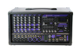 Blastking POD740BT 7-Channel Powered Mixer with Bluetooth, MP3 Player and EQ